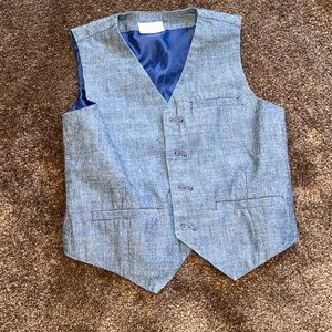 Crazy 8 denim vest size small